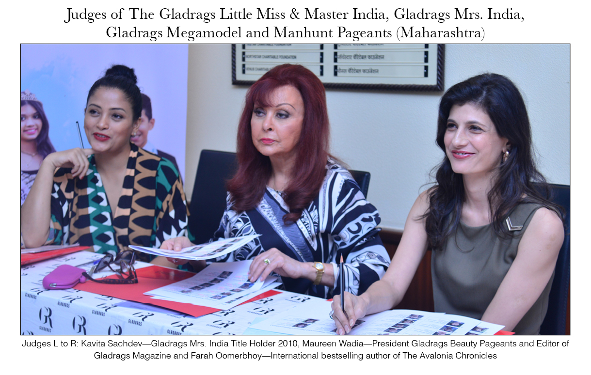 Judges of The LMMI, Mrs. India and MMMH Pageants (Maharashtra)