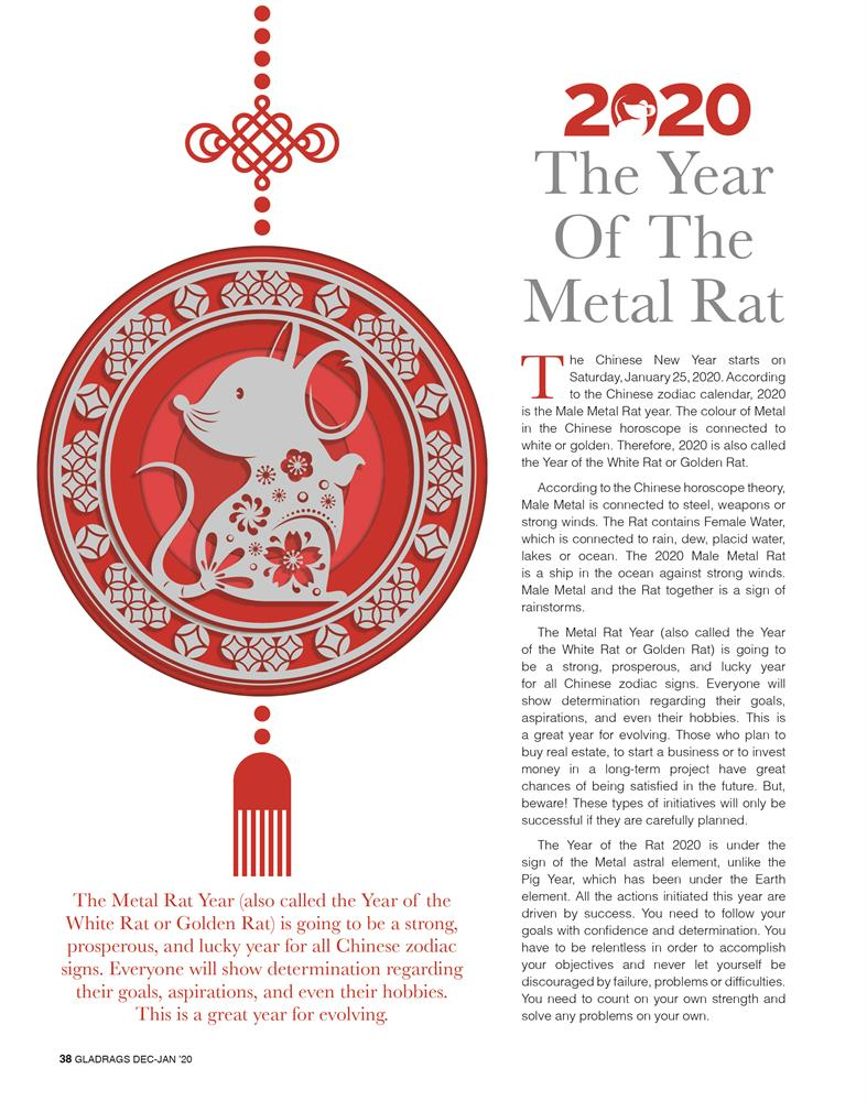 The Year Of The Metal Rat